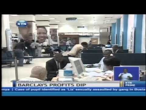 Barclays bank announces 13 percent drop in profits for the period ending December 31st 2013.