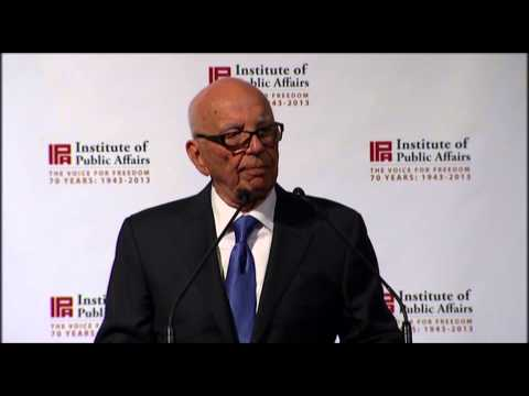 Rupert Murdoch's speech to the IPA