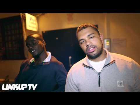 Blade Brown & Skrapz in studio recording for Bags & Boxes 3 | Link Up TV