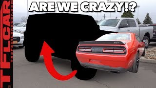 We Traded Our 707 HP Dodge Challenger Hellcat For a 2.0L Four Cylinder...Here's Why!