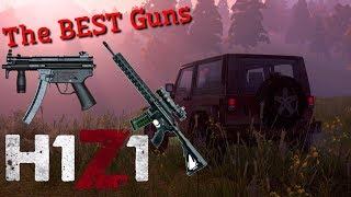 2 BEST GUNS IN THE GAME [PS4 H1Z1 Gameplay]