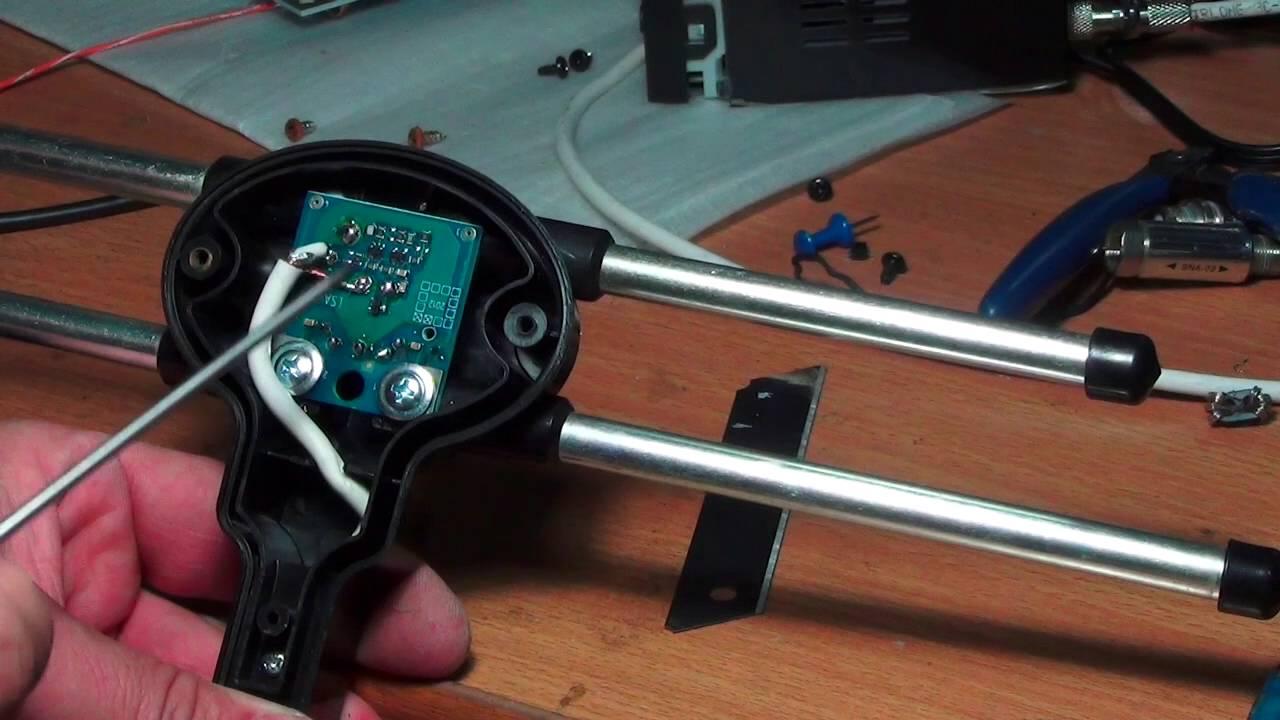 Ремонт усилителя ремонт антенны
