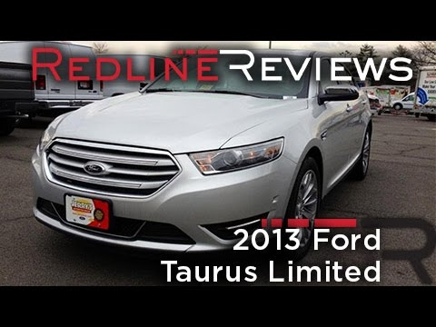 2013 Ford Taurus Limited Review, Walkaround, Exhaust, Test Drive