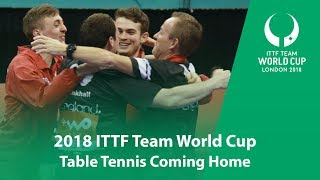 Table Tennis Coming Home I 2018 Team World Cup