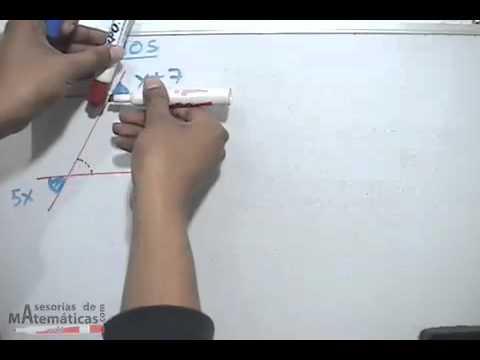 Ejercicios de ángulos en líneas paralelas