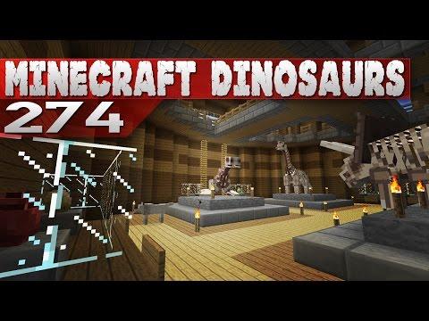 Minecraft Dinosaurs 274 Museum Time