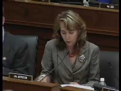 Rep. Giffords Comments on Key Legislation in Committee on Foreign Affairs 5.20.09