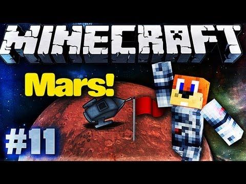 Minecraft Galactic Space Program - #11 MARS IS HERE!