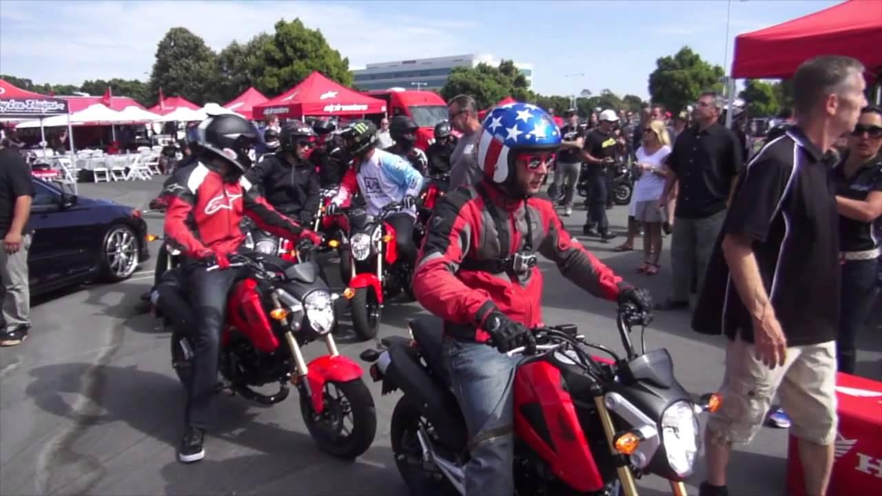 Honda Grom Review >> 2014 Honda Grom Review - YouTube