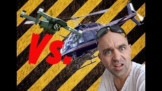 DJI Mavic Pro Vs. Helicopter ...??