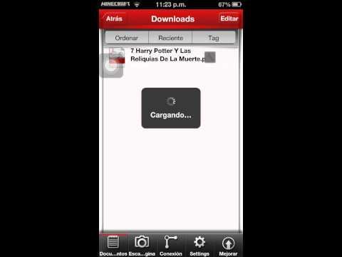Como leer y descargar archivos pdf desde su iphone ipod o ipad