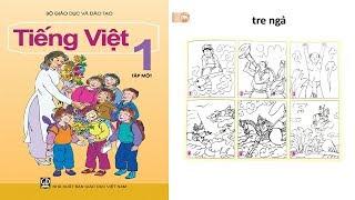 dạy bé học bảng chữ cái tiếng việt lớp 1| day be hoc bang chu cai tieng viet lop 1 tập 1 Tre ngà