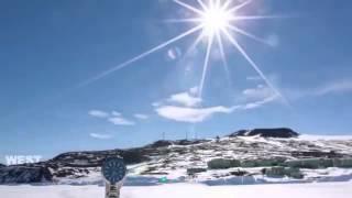 Flat Earth Debunked: A time lapse of the 24 hour sun in Antarctica