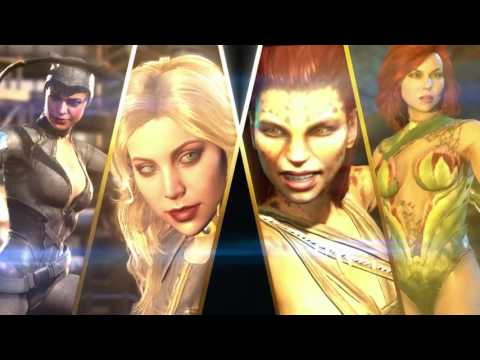 Injustice 2 — трейлер Here Come the Girls