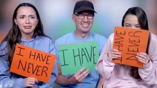 Never Have I Ever with OUR DAD (embarrassing) - Merrell Twins