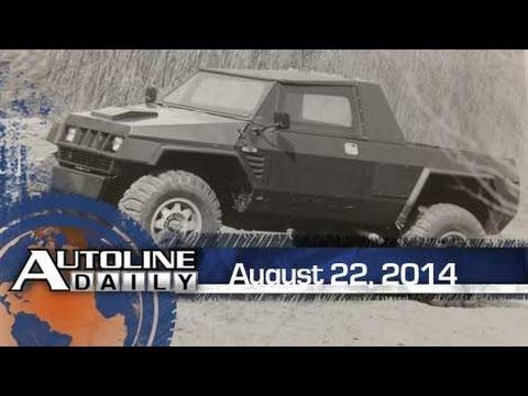 EV Battery Breakthrough, Chrysler's Humvee Prototype - Autoline Daily