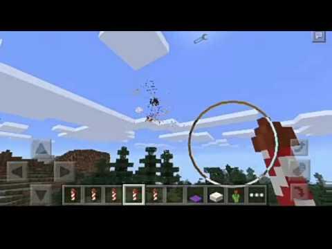 обзор мода на салюты на Minecraft 0.13.1