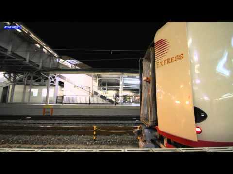 サンライズ瀬戸・出雲 Scene.5 連�風景 Docking scene of sleeper train