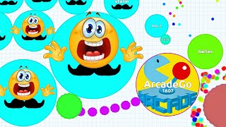 AGARIO EPIC TROLLING IN EXPERIMENTAL MODE Agar.io Funny Moments!