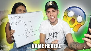 OFFICIAL BABY NAME REVEAL!!