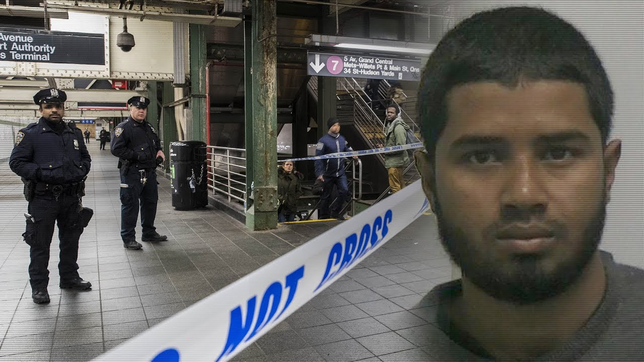 Bangladeshi man suspected in New York bus terminal bombing