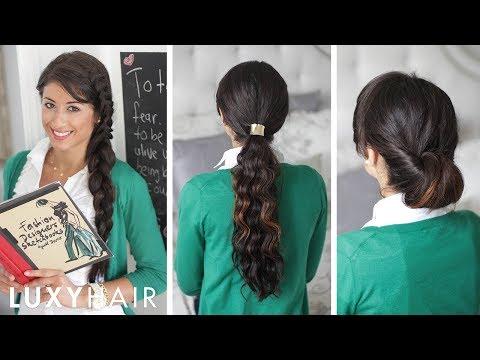 Back to School Hairstyles- Vissza az iskolába frizurák