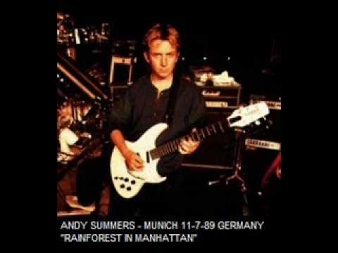 ANDY SUMMERS - rainforest in manhattan (munich 11-7-89) live !!