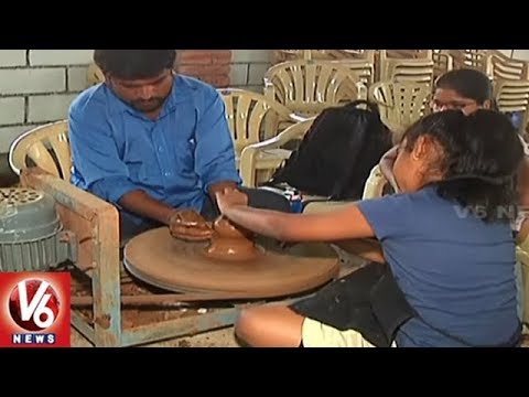 Shilparamam Conducts Training Camp Of Different Art Forms | Hyderabad | V6 News