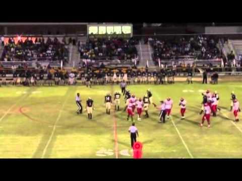 #11 Michael Aaron - TE/OLB Hoke County High School Raeford NC