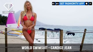 World Swimsuit Presents Sexy Blonde Bombshell Candice Jean | FashionTV | FTV