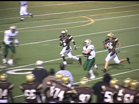 Running Back Lays Big Hit Mountain Vista high School