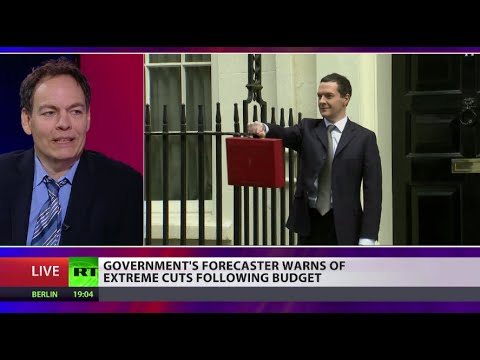 Max Keiser on UK Budget: Osborne on track to increase UK debt by 100%