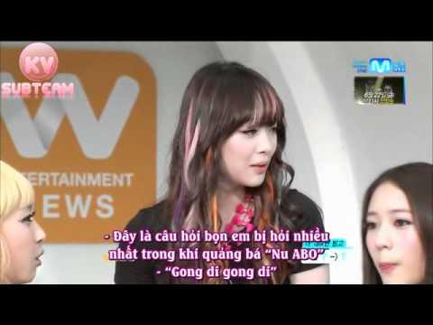 [Vietsub-KV] 120614 Mnet Wide Entertainment News - f(x)