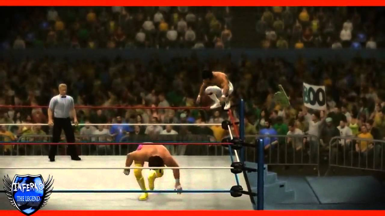 Ricky 39 the dragon 39 steamboat wwe 2k14 finisher youtube