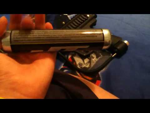 JT Outkast paintball marker ready to go set unboxing