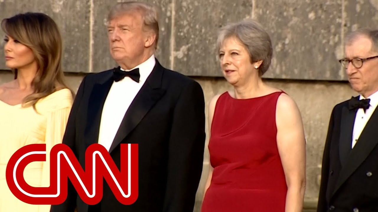 Trumps dine with UK Prime Minister after Trump made false claims about NATO spending