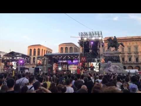 Radio Italia Live Milano Piazza Duomo 2015