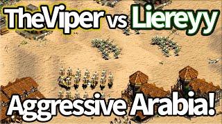 TheViper vs Liereyy! Insanely Aggressive Arabia!