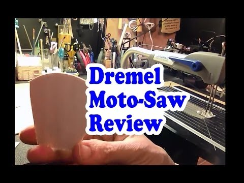 Dremel Moto-Saw Review - A mini scroll saw for hobbyists.