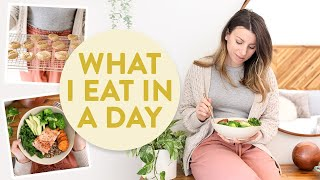 What I Eat In A Day For Anxiety | Healthy + Balanced Meals