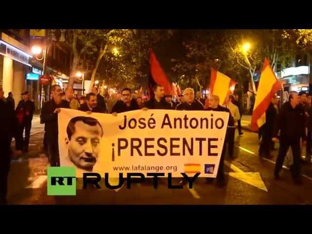 España: Extrema derecha conmemora la muerte de Primo de Rivera
