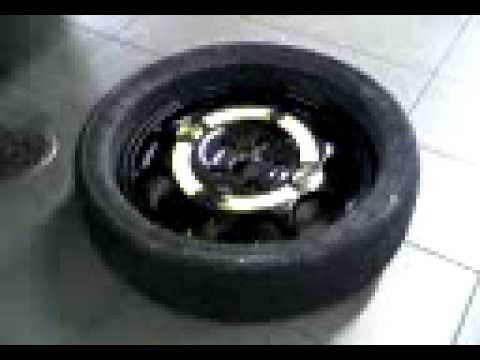 Audi Q7 Folding Spare Wheel YouTube