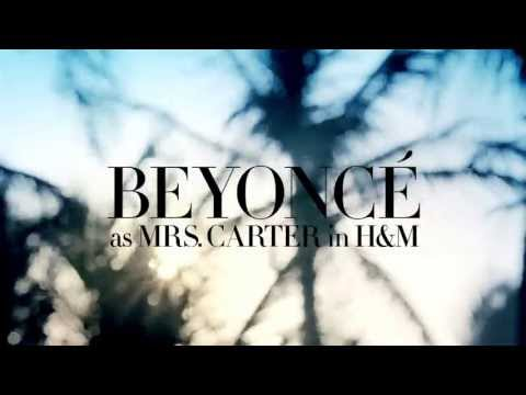 Beyoncé as Mrs. Carter (H&M)