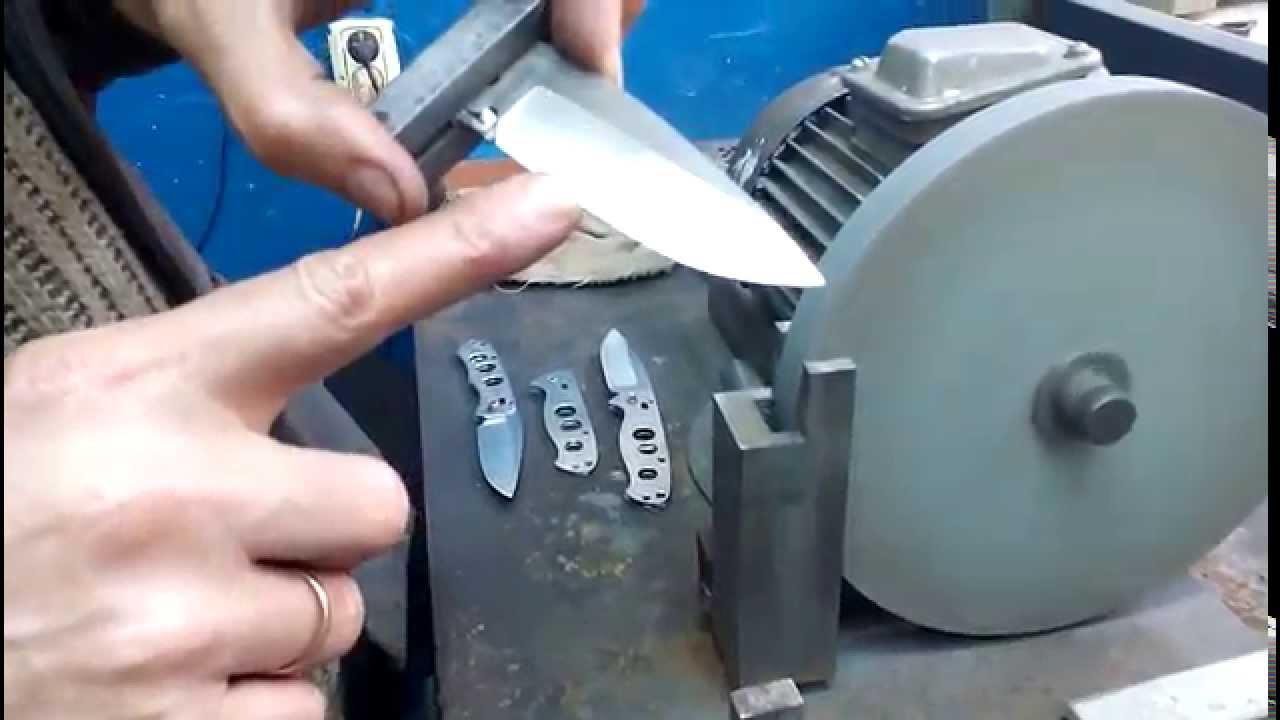 Как сделать спуски для ножа