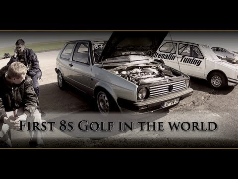 World Fastest VW Golf MK2 AWD 900HP 8,89s @ 266kmh 1.8T