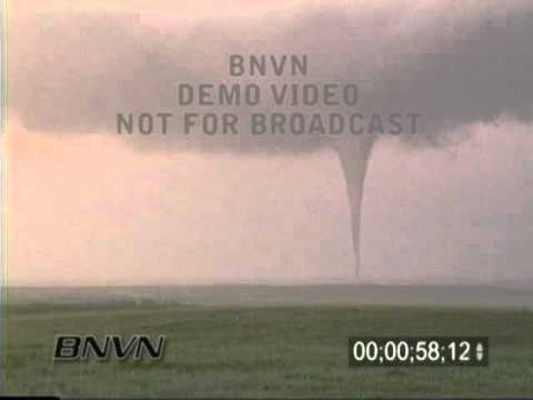 6/8/1999 Corson County South Dakota Tornado Stock Video