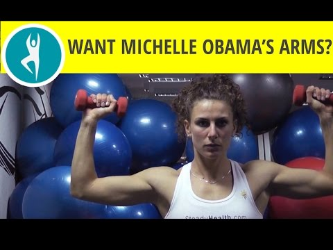 Slim, sleek & strong: The Michelle Obama arm workout