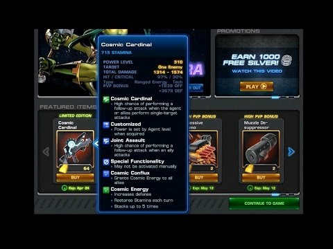 Marvel Avengers Alliance: Is the Cosmic Cardinal worth getting?