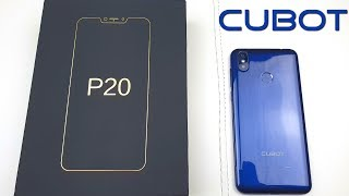 Cubot P20 Unboxing and First Impressions