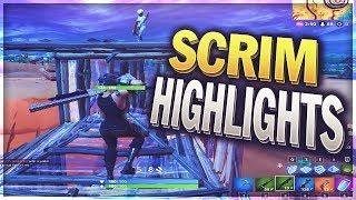 Pop Up & Scrim Highlights #1 (Fortnite: Battle Royale)